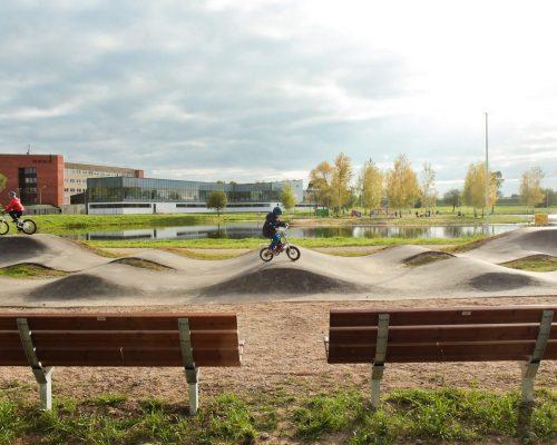 Gelar Çocuk Bisiklet Parkuru