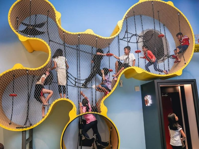 duvara monteli oyun parkı