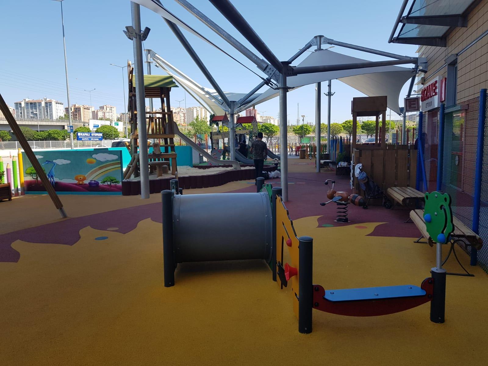 Rönesans Ankara Optimum Avm Çocuk Park Alanı